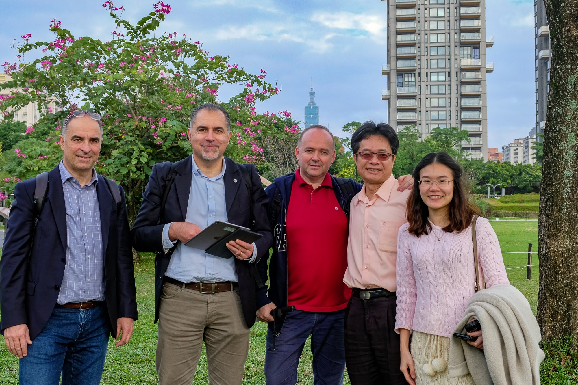 Visita a Daan Park – Taiwan