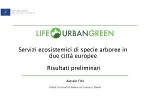 Fini Urbangreen Torino 2019